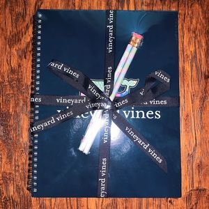 Vineyard Vines Notebook and Pencils